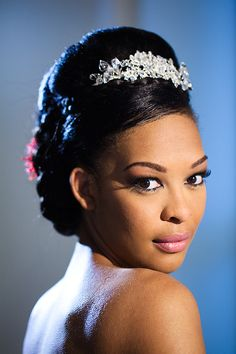 Head pieces by @COgdenDesigns and @Tiaraheaven. Hair by KasiaFortunaHi. Photo by Damien Lovegrove.