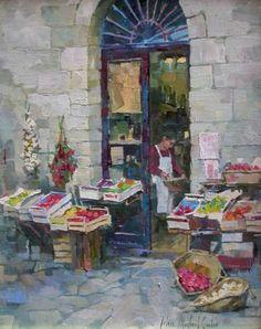 Fruit Market by John Michael Carter