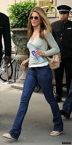 Image result for jennifer aniston street style