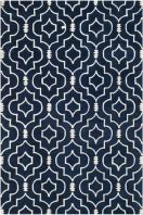 The Chatham collection is a sophisticated contemporary rug that uses a chevron design. Made in India with a 100% wool pile, this rug is highlighted with Moroccan patterns with modern colors.