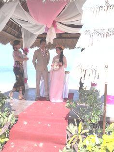 Our wedding in Kuta Bali