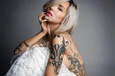 Ink Inspiration: 6 Tattoo Artists You Should Follow On Instagram, featuring Lisa Orth, Nikko Hurtado, Sara Fabel, Slowerblack (Jenna Bouma), Shannon Perry and Kieran Williams