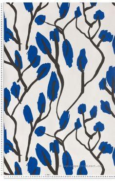 Ivy league bleu - Papier peint JC de Castelbajac de Lutèce