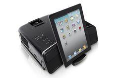 Epson MegaPlex MG-850HD Projector : MG-850HD with iPad
