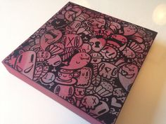 Kawaii Doodle canvas by Miss Wah misswah.con