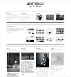 Web layout.