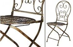 Our beautifully timeworn accent chairs are English garden inspired cottage chairs that are that secret beauty your home has been waiting for. Use them to hold planters or to decorate for fall on your porch! Visit, www.decorsteals.com OR www.facebook.com/decorsteals