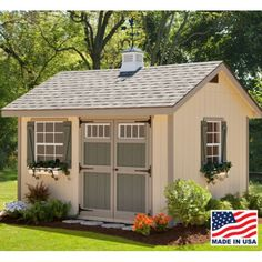 Heritage Shed Kit 8' x 12'