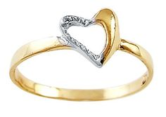 Right Hand Heart Ring 14k White Yellow Gold Fashion Band, Size 5 Has :               (2)       Good Reviews From Customers. Check All Reviews, Details, Features, and How To Get it with Best Price/Discount Here:   http://short.shopingzon.com/QkF7m