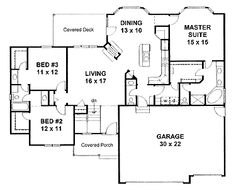 61 best House Plans images on Pinterest | Floor plans, Home plans ...