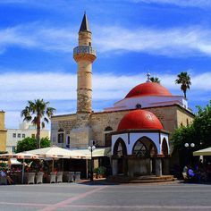 Defterdar Mosque - Kos    this Mosque do not operate today but remain  the historical and architectural landmark of the  Ottoman past of the island -  Kos City - Island of Kos - Greece