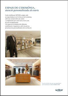 Cada establecimiento de Trajes Señor cuenta con un espacio de ceremonia con una atención totalmente personalizada. ¿Quieres venir a conocernos? #bride #groom #wedding #weddings #bodas #novio #traje #boda #diciembre #suits #suitup #suit #bridestyle #groomstyle