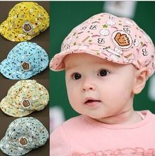 52e2cd05eb0 New kids lovely caps baby Beret Retails baby letter baseball cap