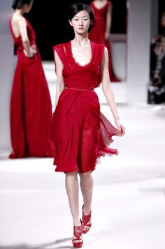 Elie Saab Little Red Dress