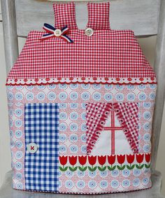 Dutch Tea House Cozy - by dutch blue, via Flickr ...... finding the right fabric together!