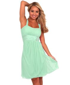Sleeveless Rhinestone Empire Waist Sheer Layer Evening Cocktail Party Dress (Small, Mint) Hot from Hollywood,http://www.amazon.com/dp/B00C3356TW/ref=cm_sw_r_pi_dp_G.gxsb17X50XY0C4