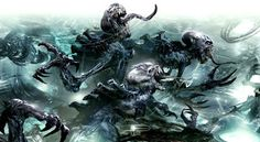 Faeit 212: Warhammer 40k News and Rumors: Preview of Upcoming Artwork: Tyranids Anyone?