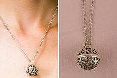 bridesmaid gift idea: pretty locket! Love that you can put a note in it!
