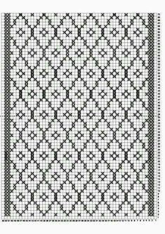 Filet Crochet, Crochet Stitches Chart, Knitting Charts, Knitting Stitches, Knitting Designs, Knitting Patterns, Knit Crochet, Crochet Patterns, Cross Stitch Designs