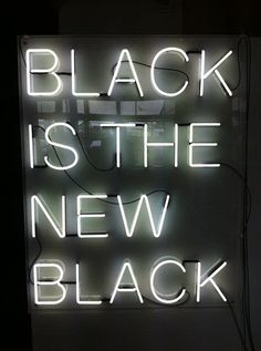 black, black and white, black is the new black, dope, neon . Shades Of Black, Black Love, Back To Black, Black Is Beautiful, Black And White, Hey Gorgeous, Black Neon, Color Black, Matte Black