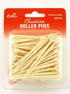 Eden Christina Roller Pins  80 Pcs ** Want to know more, click on the image.(This is an Amazon affiliate link and I receive a commission for the sales)