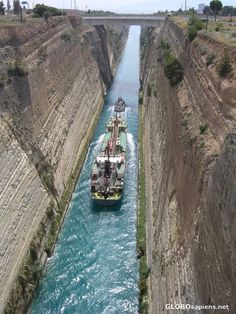 Corinth Canal, Greece Corinth Greece, Corinth Canal, Wild West Outlaws, Travel Around The World, Around The Worlds, Greece Pictures, Vacation Places, Free Travel, Countries Of The World