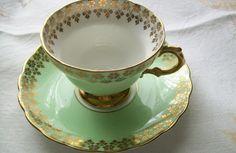 Vintage Rosina teacup  vintage  china   teacup  by NewtoUVintage