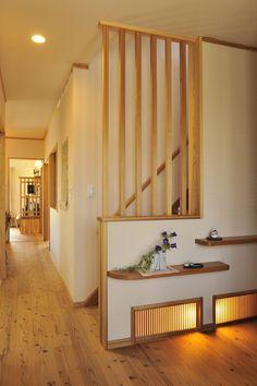 木のぬくもりと、和の雰囲気を感じられる高級感のある玄関。#玄関#自然素材