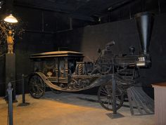 """A steam-driven hearse (as seen on MadCityMike's Blog: """"More of Tour 2......"""")"""