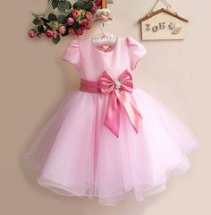 47.20$  Buy here - http://vipip.justgood.pw/vig/item.php?t=mhfbvo17794 - Flower Girl Party Wedding Dress Toddler Little Girls Pageant Dresses Best Baby 47.20$