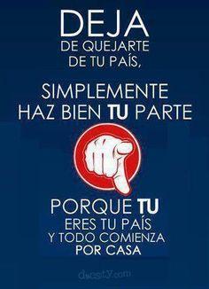 Deja de quejarte y actúa!! #cita