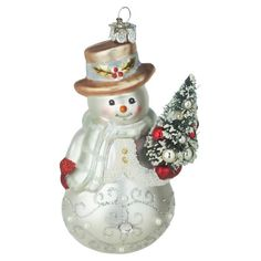 Nestle this classic ornament into the branches of your holiday tree for a charming touch of seasonal appeal.  Product: Ornament