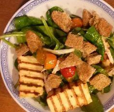 Hallumi Salad;
