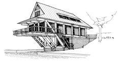 Balihoo sketch scheme - Adrian James Architects, Oxford