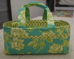 Project Tutorial: Make a Fabric Sewing Caddy