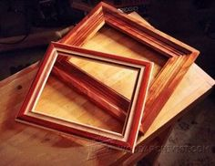 Building Picture Frames - Woodworking Plans and Projects   WoodArchivist.com