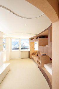 Le Refuge, appartement aux Menuires   h2o architectes