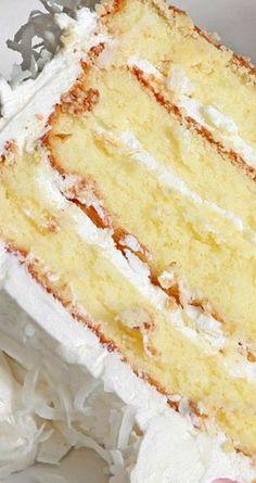 Old Fashioned Coconut Cake Recipe