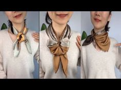 Ways To Tie Scarves, Ways To Wear A Scarf, How To Wear Scarves, Scarf Tying Tutorial, Diy Lace Ribbon Flowers, Vintage Fashion 1950s, Victorian Fashion, Diy Scarf, Lace Scarf