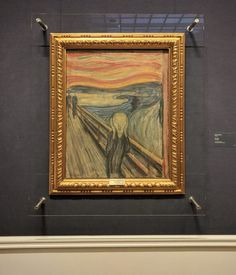 Munch's Scream painting is one of the most famous in the world. And Oslo has not one but three key places to see and appreciate the artwork. Visit Oslo, Things To Do, Old Things, Viking Culture, Famous Pictures, Great Paintings, National Museum, Art Museum, Places To See