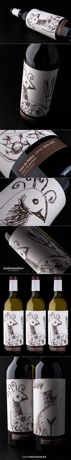L' ORNI 2012 VINS DE PEDRA - TANINOTANINO VINOS INTELIGENTES - VINOS MAXIMUM Photo by #winebrandingdesign