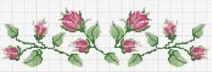 This Pin was discovered by Міл Cross Stitch Rose, Beaded Cross Stitch, Cross Stitch Borders, Cross Stitch Flowers, Cross Stitch Charts, Cross Stitching, Cross Stitch Embroidery, Cross Stitch Patterns, Spelling And Handwriting
