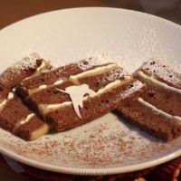 Recipe in Ukrainian for Shokoladnyi Tort z Kavovym Kremom (Chocolate Torte with Coffee filling). With step-by-step photos. From SMAKplus.com - PHOTOBANK