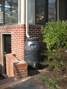 how to make a rain barrel.  Now... where can you find the barrel without paying an arm and a leg?
