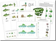 Pond Unit from Homeschool Creations