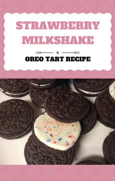 Elise Strachan knows a thing or two about desserts, and she shared her No-Bake Strawberry Milkshake Tart with Oreo Crust recipe on Today Show. Best Dessert Recipe Ever, Tart Recipes, Best Dessert Recipes, Frozen Desserts, Fun Desserts, Cream Cheese Desserts, Oreo Crust, Strawberry Milkshake, Best Pie