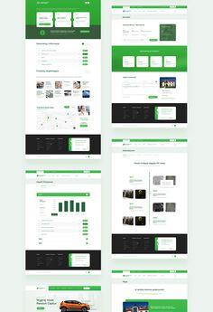 Banking Website - Bank Spółdzielczy w Limanowej on Behance