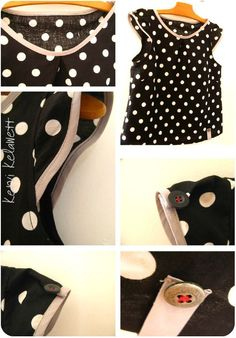 Polka dots are awesome. I am making a polka dot shirt right now.