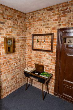 Modern, Furniture, Home Decor, Bricks, Wall, Home Entrances, Trendy Tree, Decoration Home, Room Decor