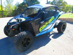 "New 2017 Can-Am Maverickâ""¢ X3 X ds Turbo R ATVs For Sale in Oklahoma."